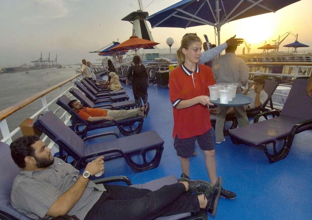 Dubai targets 1 million cruise tourists by 2020