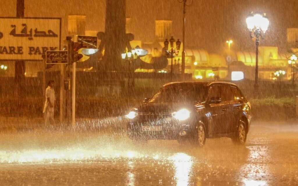 rain, weather, blowing dust, weather alert, rain in UAE