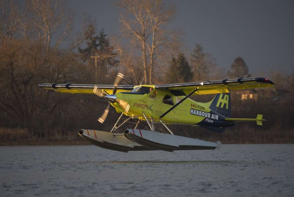 First commercial electric plane takes flight in Canada