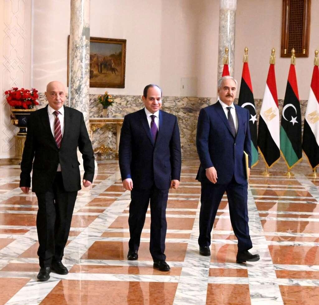 Libya, Egypt, Haftar, Sisi, parliament