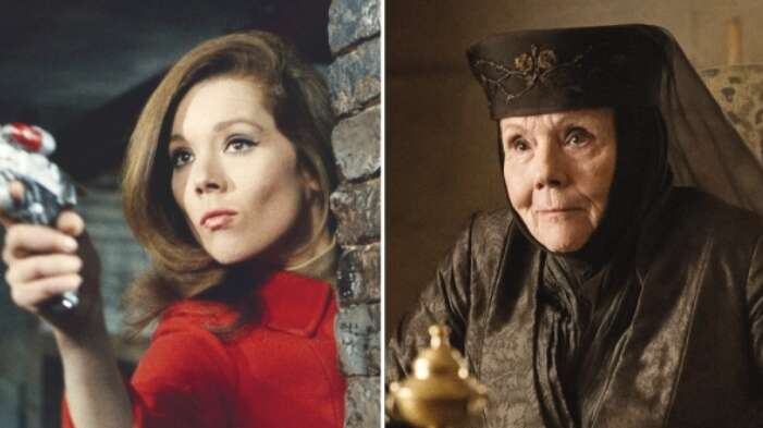 Diana Rigg, Hollywood, James Bond, Avengers, Game of Thrones
