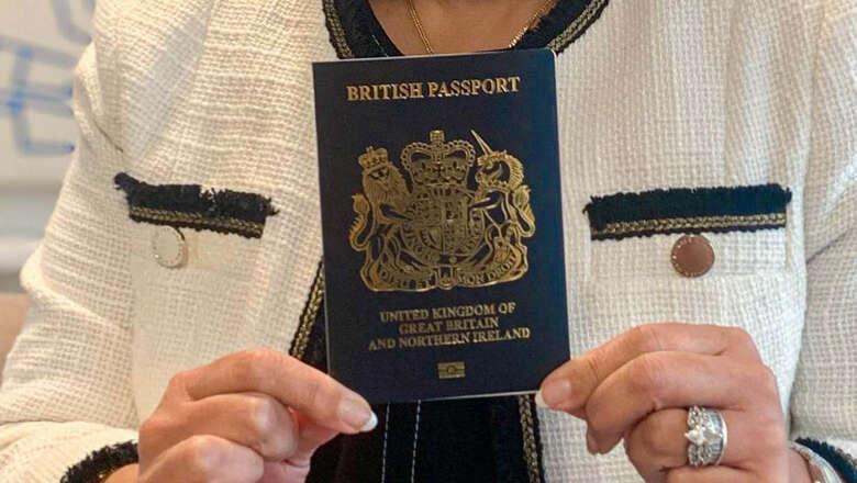 blue passports, brexit, uk