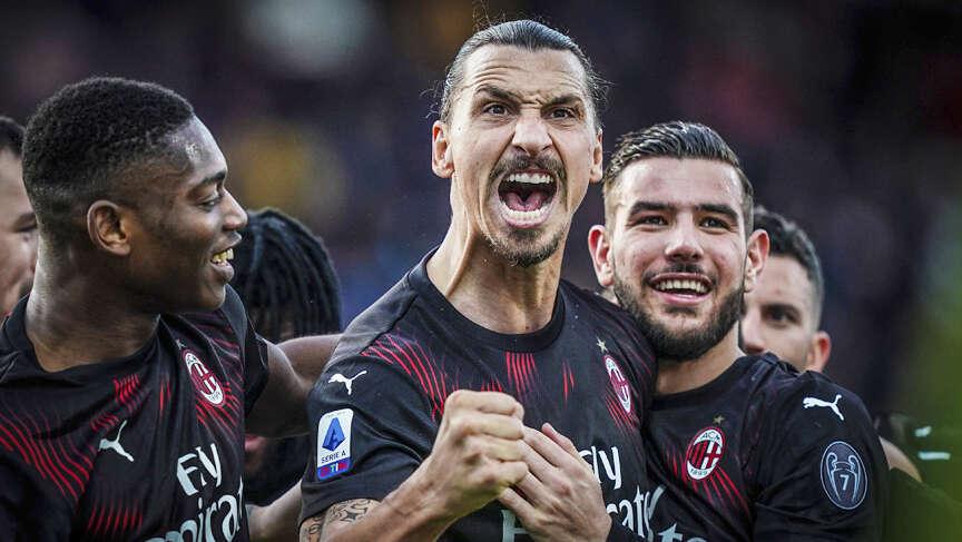 Ibrahimovic scores to help Milan win 2-0 at Cagliari