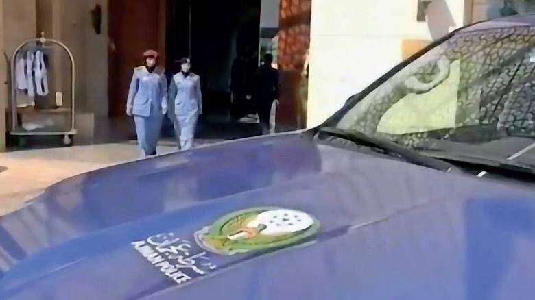 ajman police, six minutes, crises