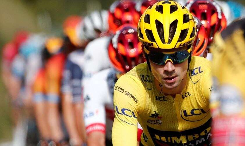 Tour de France: Roglic's bike damaged during official check, say team