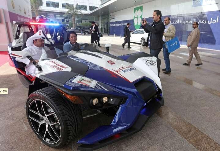 Dubai's new ambulance super car runs at 200km/hr - Khaleej Times
