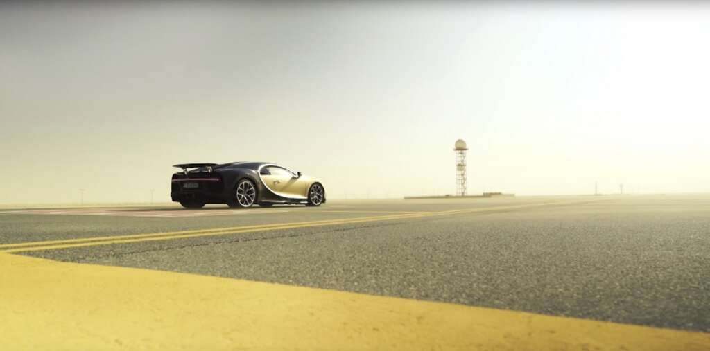 Video: Dh10m supercar races on Dubai airport runway