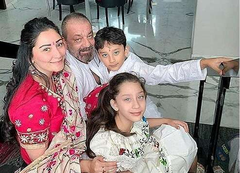 Sanjay Dutt happy to be with kids in Dubai after months