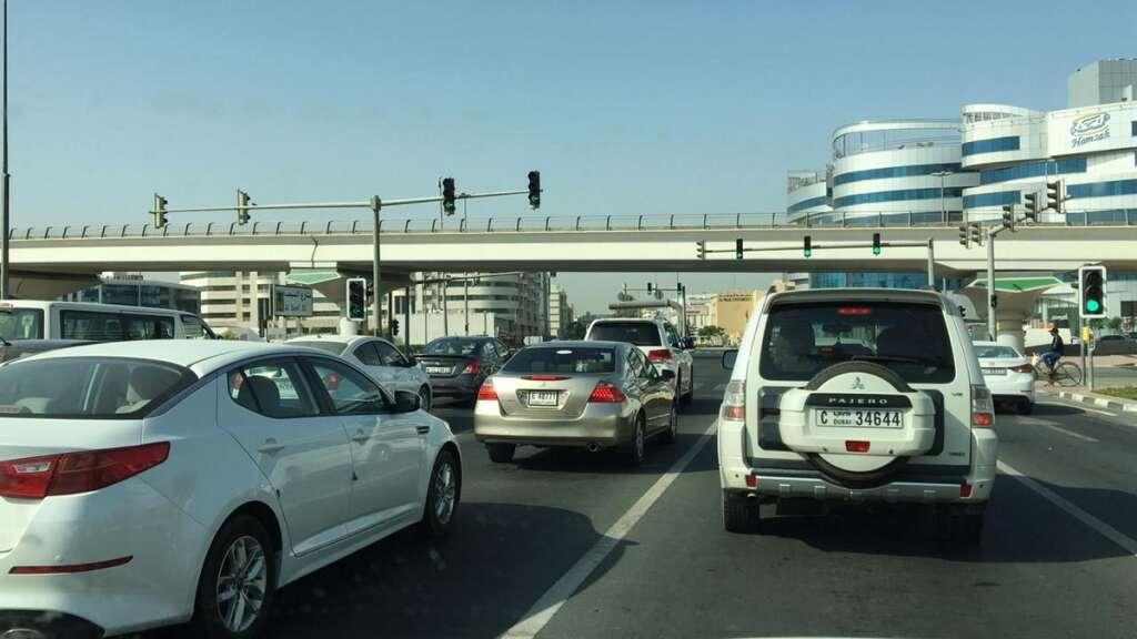 Sharjah, dubai, traffic, covid-19, wok resume
