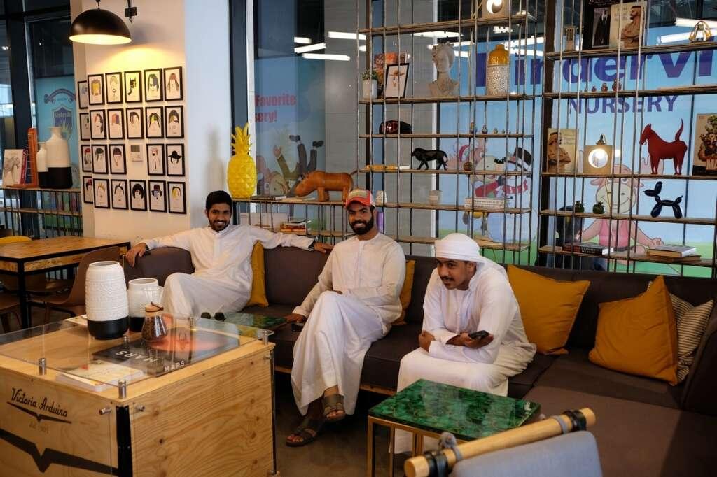 Around the Block, New, concept café, Dubai, Emirati youth, Wasl 51, Al Wasl road, Ismail Al Sharif