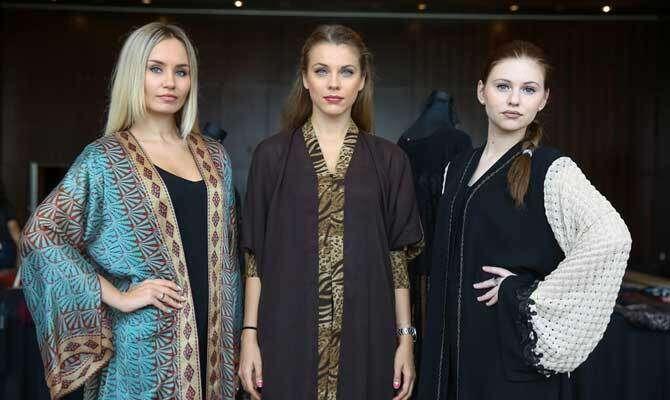 Sahar Madani launches new modern abaya collection
