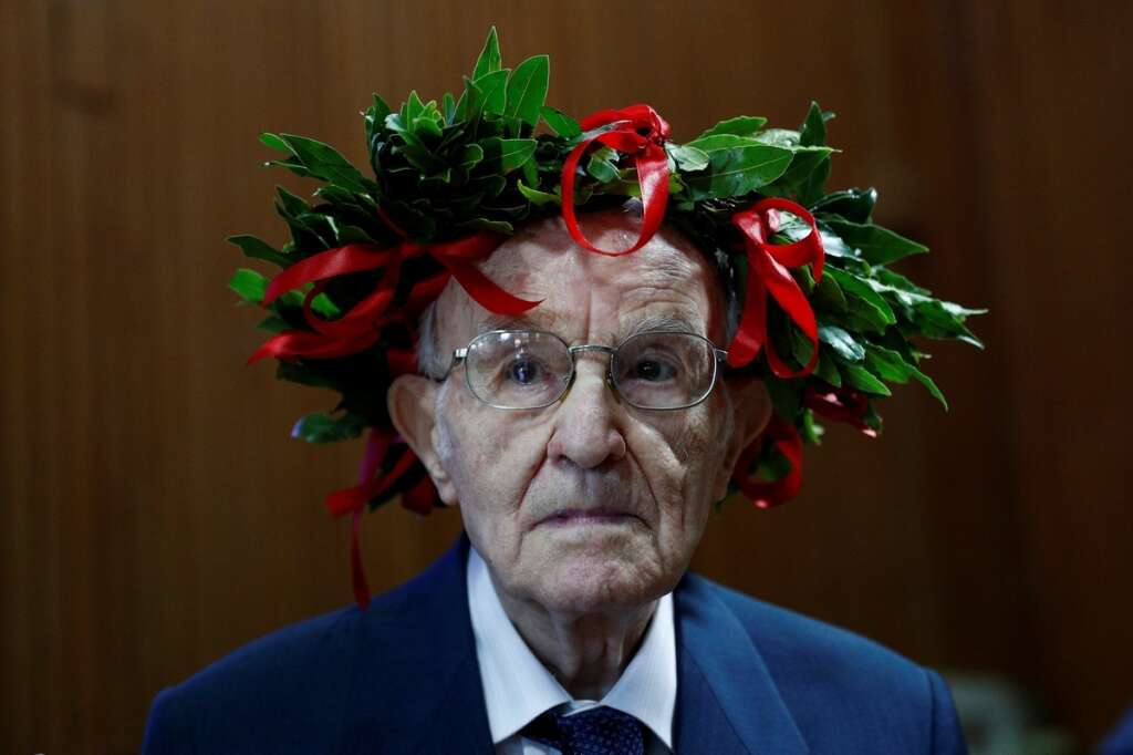 Giuseppe Paterno, oldest, graduate