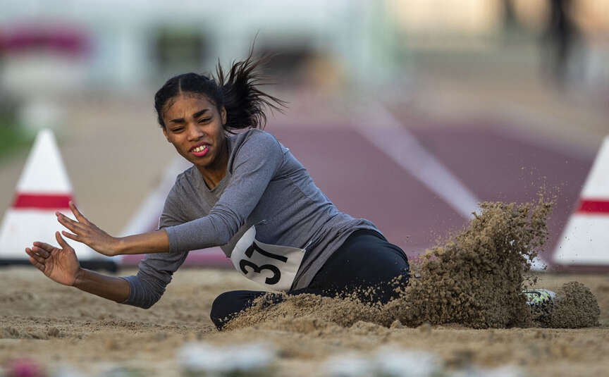 UAEs Kaabi wins long jump gold