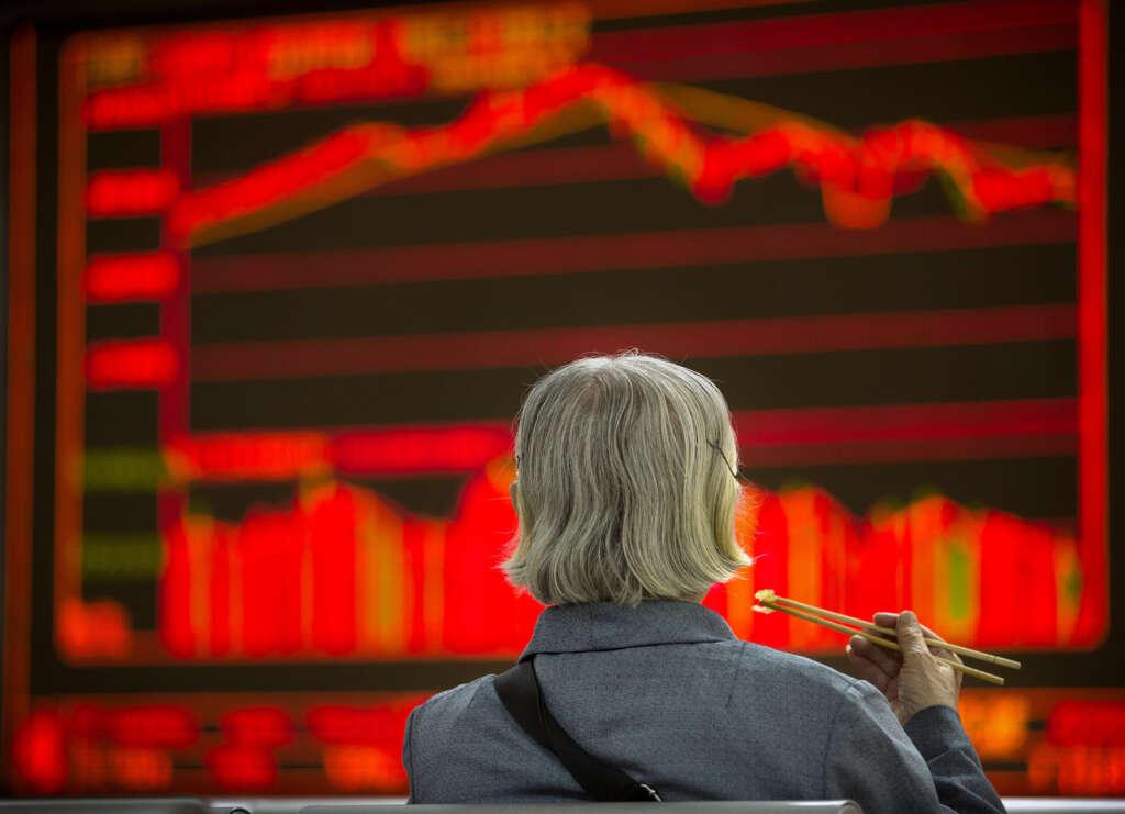 Shares perk up after global growth concerns subside