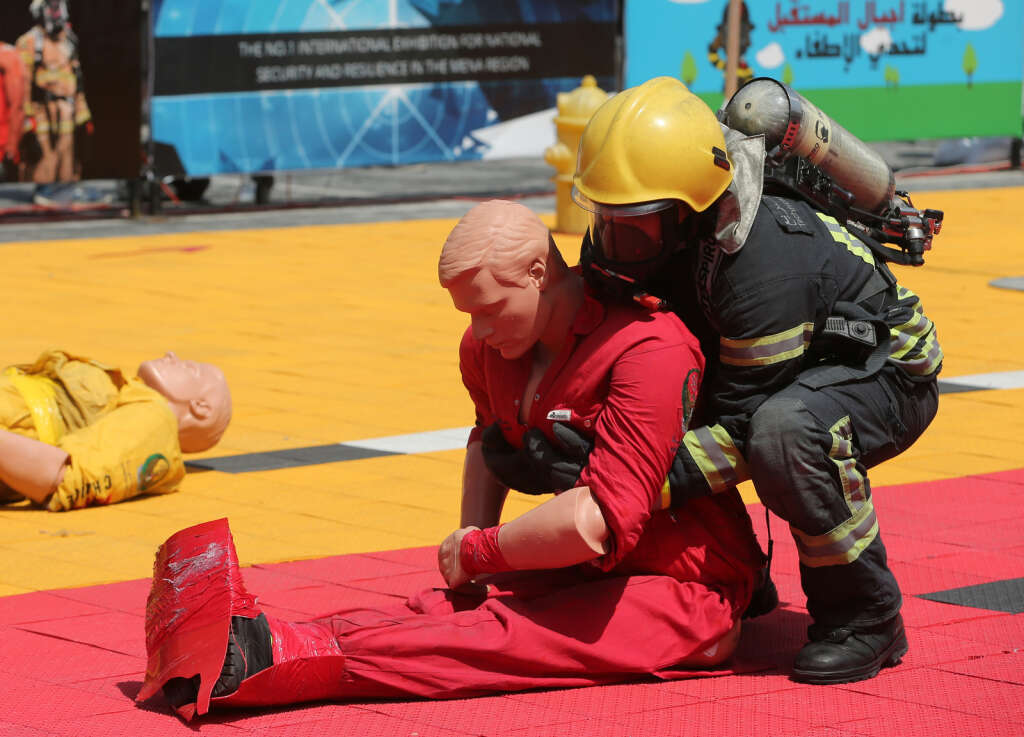 Global firefighters highly impressed with UAE firefighters