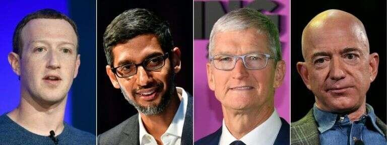 Big Tech, Facebook, Apple, Amazon, Netflix and Google