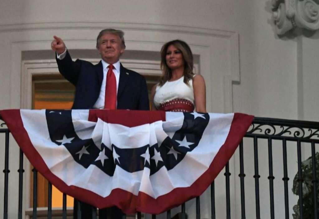 Trump,  US July 4th weekend