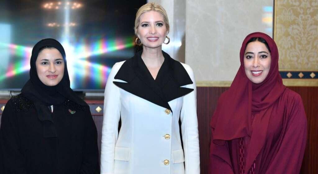Ivanka Trump, arrives, Dubai, US President Donald Trump, Global Women's Forum Dubai