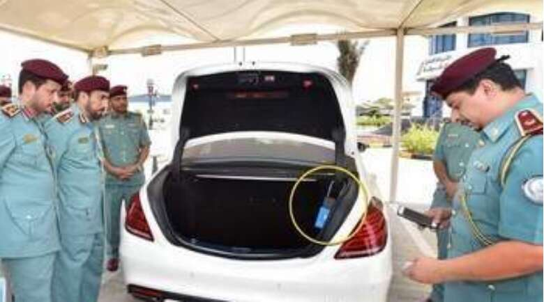 155 confiscated cars under house arrest in Sharjah