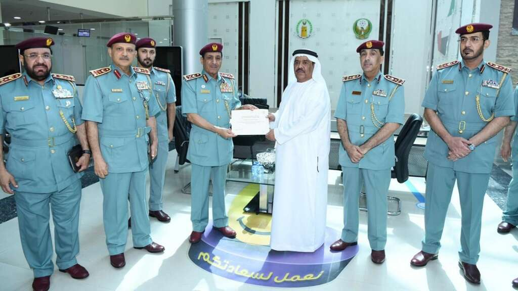 Ali Abdullah bin Alwan Al Nuaimi, Ras Al Khaimah police, zero leave