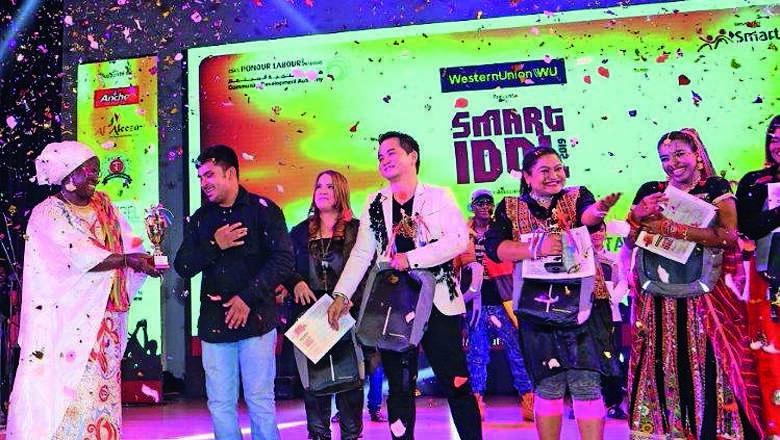 Single mum, electrician win top spots at talent contest - Khaleej Times