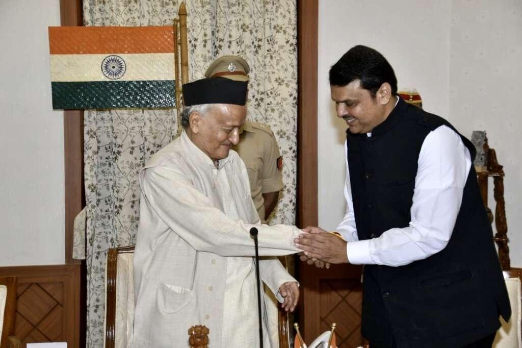 Devendra Fadnavis, sworn-in, new, Chief Minister, Maharashtra,