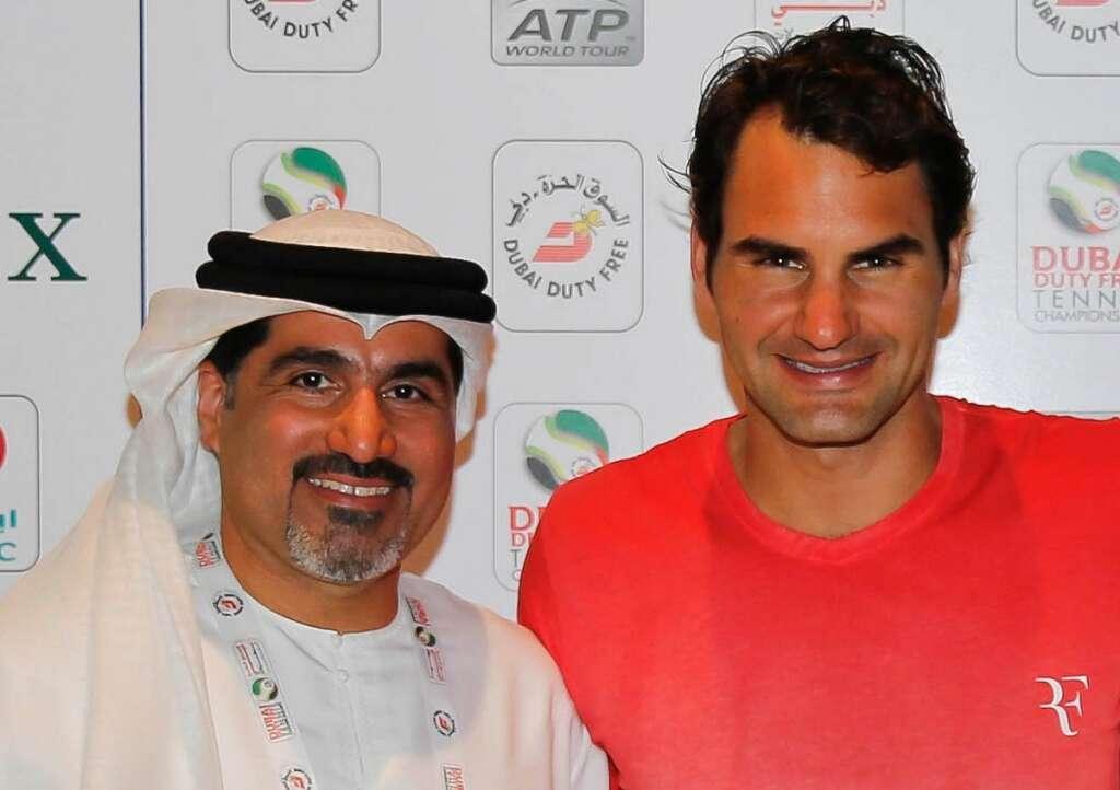 Star-studded Dubai tennis tournament hopes to see Federers century