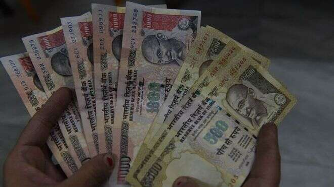 Indian rupee, forex