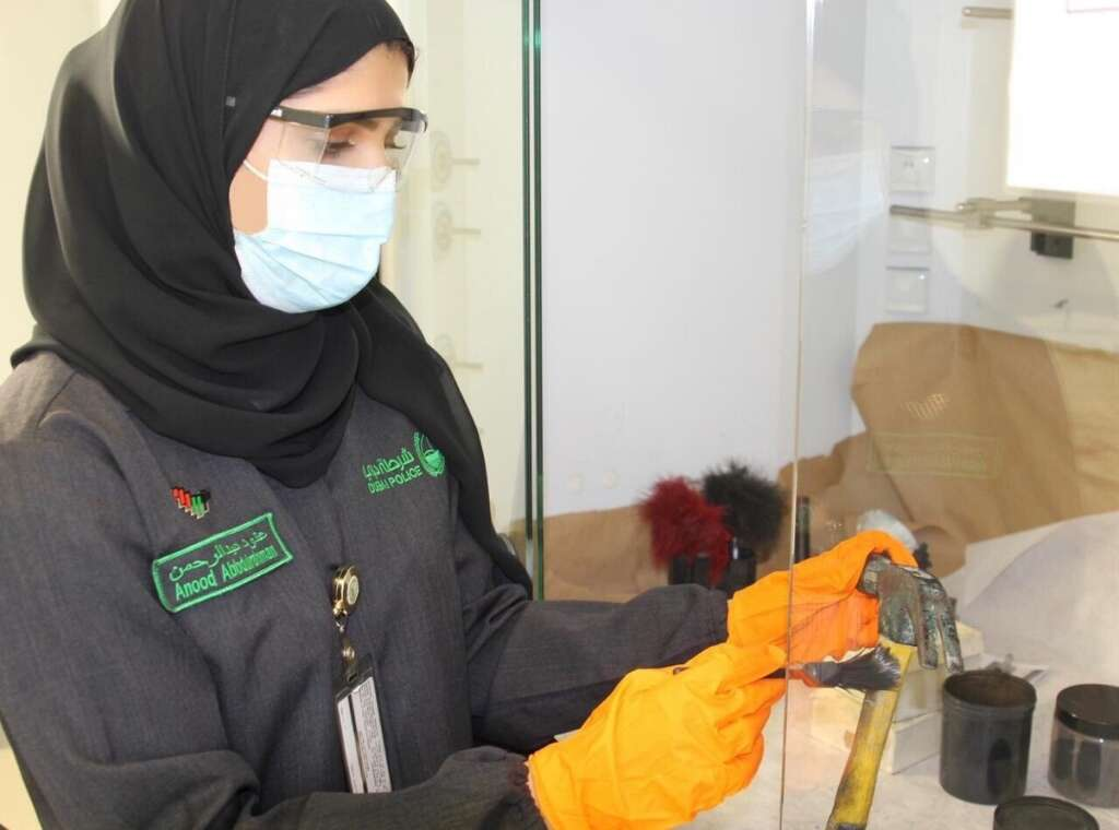 #SheIsEmirati, Meet, Dubai Police, first, female, fingerprints expert,