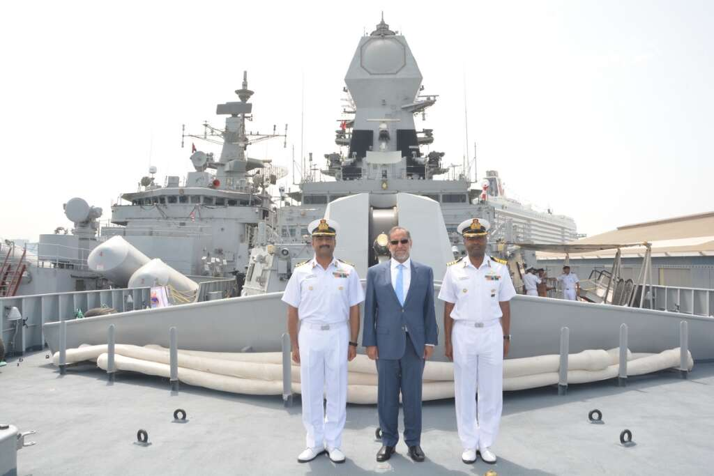 Naval ships exercise to boost UAE-India ties