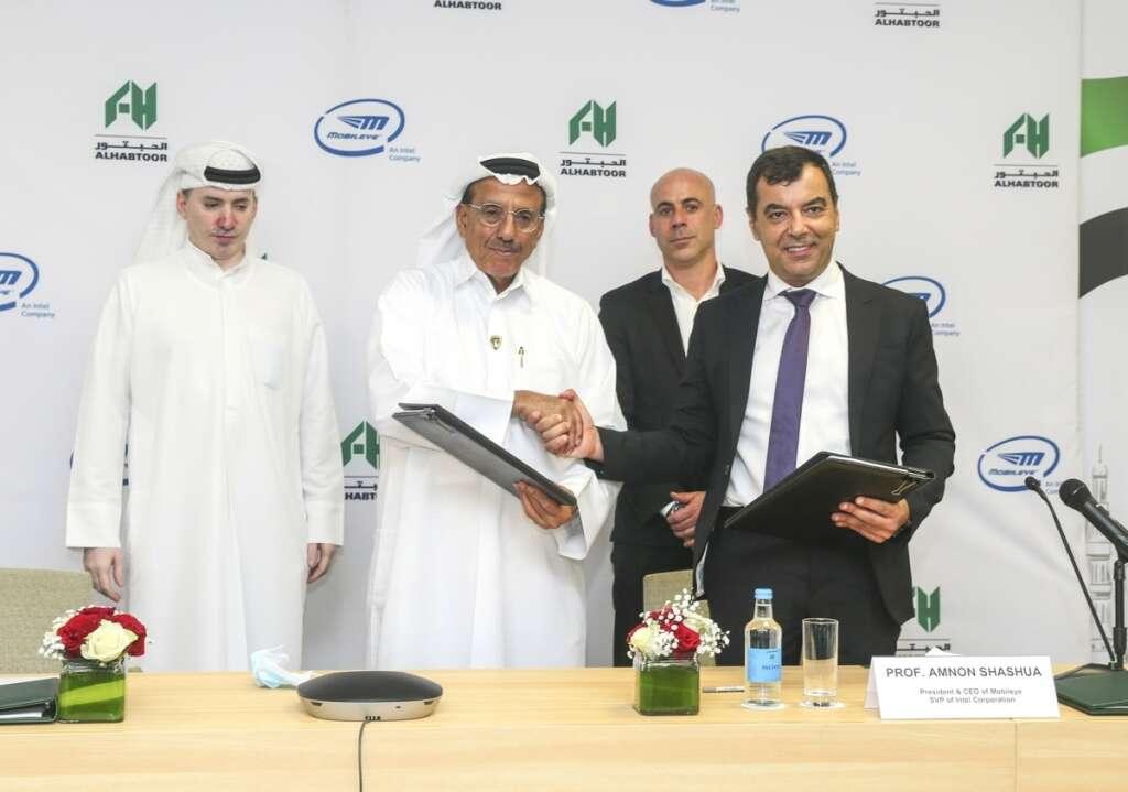 Al Habtoor Group, Mobileye, robotaxis, UAE, Israel