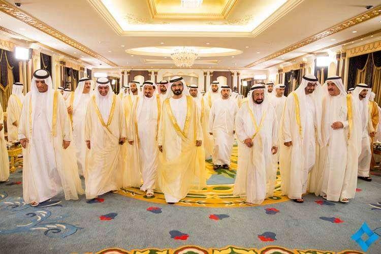 UAE Rulers gather to celebrate Eid at Mushrif Palace