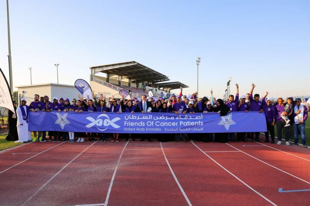 3,000 unite to remember lives affected by cancer in Sharjah walkathon