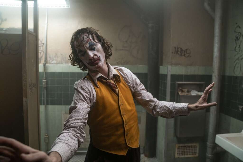 Joaquin Phoenix as The Joker in the movie opening in UAE Wednesday night review