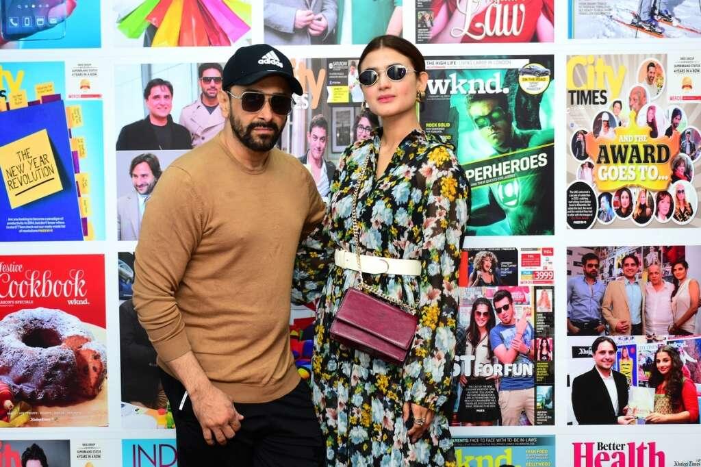 Pakistani star couple urge fans to attend PISA