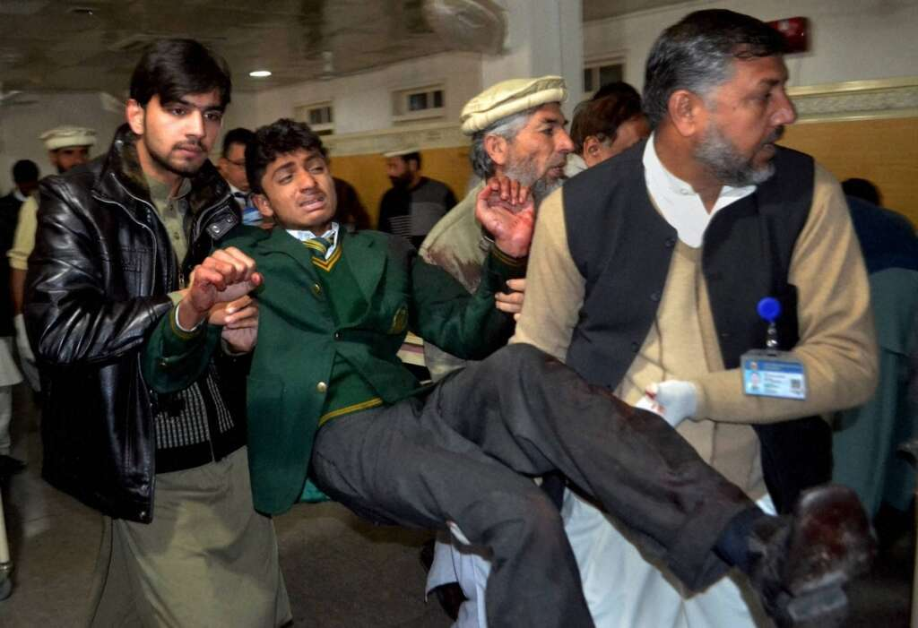 Pakistan, Taleban, school attack