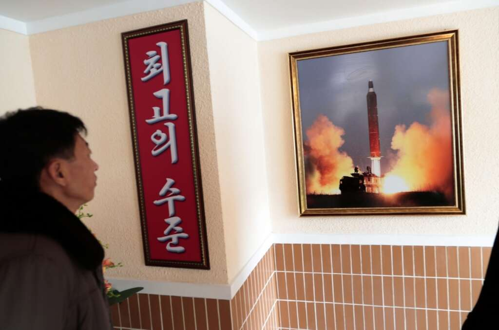 North Korea, Thanksgiving, US, projectiles