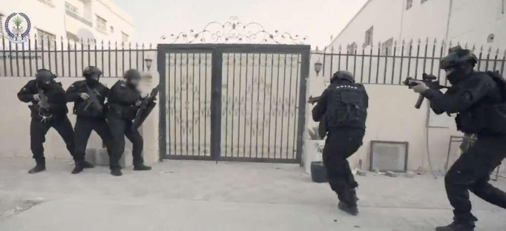 Sharjah Police, drugs, smuggling