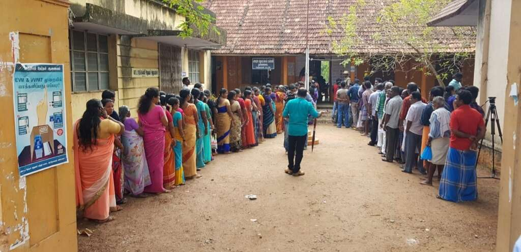 India elections 2019: Millions cast their vote in second