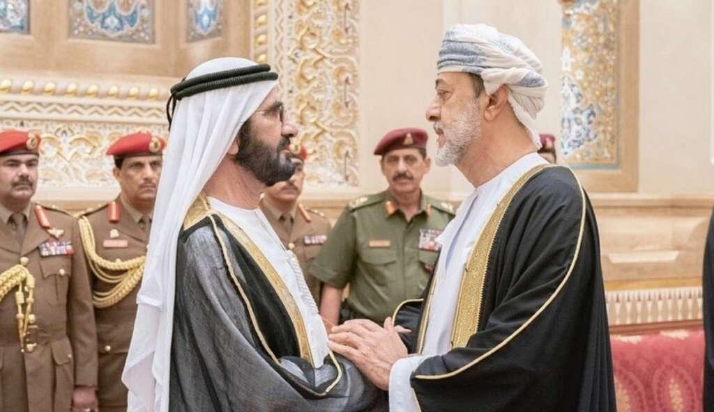 Sheikh mohammed, oman, sultan haitham oman, sultan qaboos