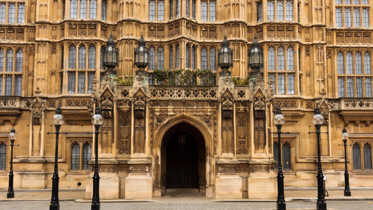 British Parliament. — Alamy Stock photo