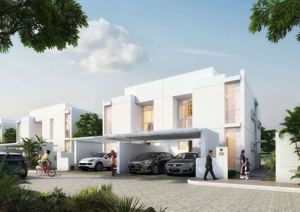 Construction gains speed on Arabella townhouses