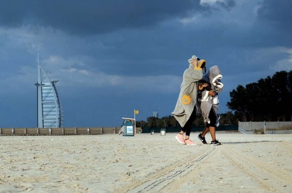 UAE, Humid days, weather forecast, rainfall