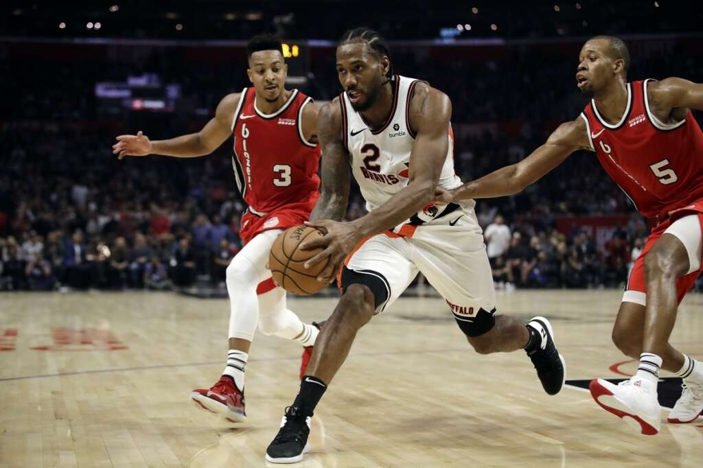 Leonards late surge lifts Los Angeles Clippers
