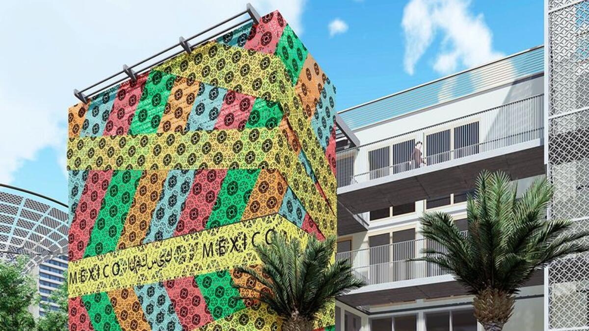 Expo 2020 Dubai: Mexico pavilion's facade was woven by 200 female artisans