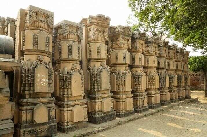Ayodhya, Tam temple, Kuber Tila temple, Rudra Abhishek' ceremony