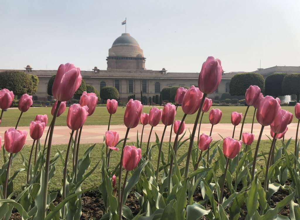 Indian presidential gardens, Rashtrapati Bhavan, Ram Nath Kovind, India