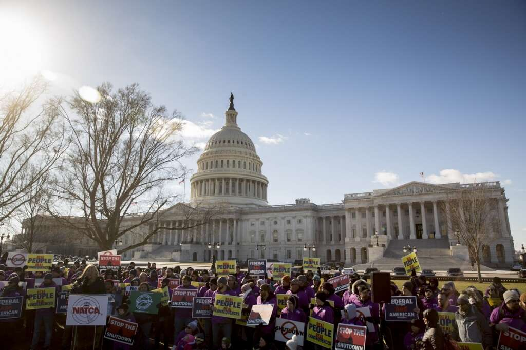 US government shutdown breaks record, with no end in sight