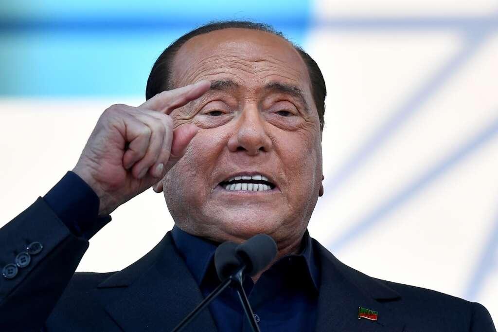 silvio berlusconi, former, italian, prime minister, positive, coronavirus, covid-19