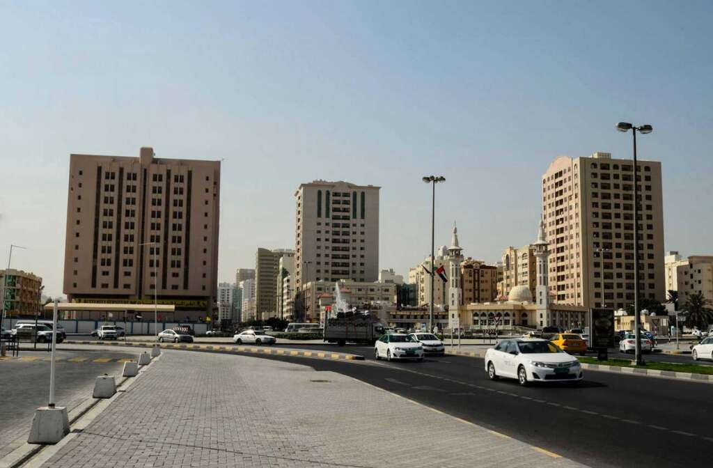 Sharjah route, Dh103-million, road project, UAE, two major squares, roundabout, intersections